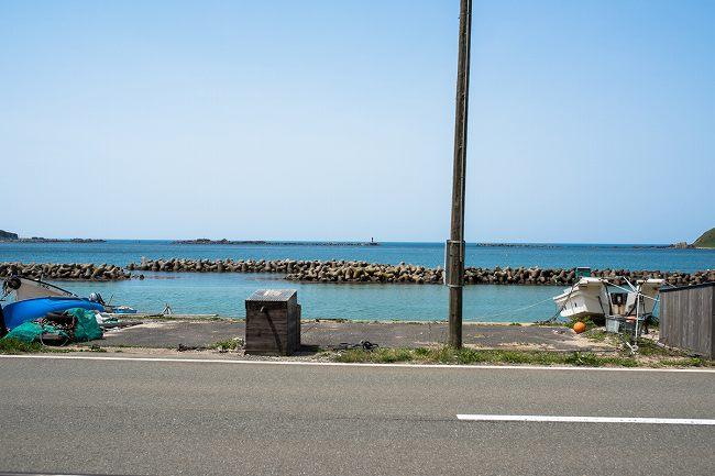 水族館GAO近くの海