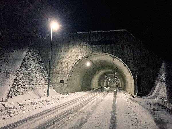 保呂瀬トンネル