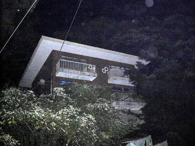 枕木山廃ラブホテル